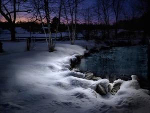 Light-painting-photograph-Snow-Stream