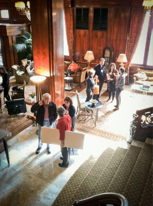 The Benson Hotel lobby