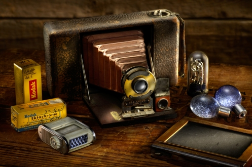 Harold Ross's Student Marc Forand's Light Painting Still Life Image