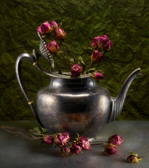 Harold Ross's Light Painting Student, Dorothy Ringler's Still Life Photograph
