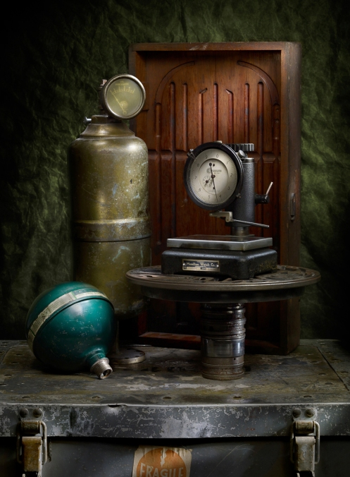 Photographer Harold Ross's Light Painting Still Life Image