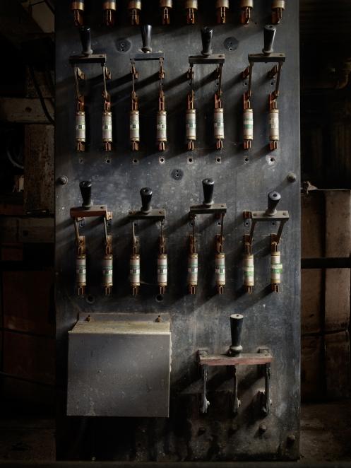 lonaconing (abandoned) silk mill | harold ross fine art ... vintage fuse box house vintage circuitry fuse box #14