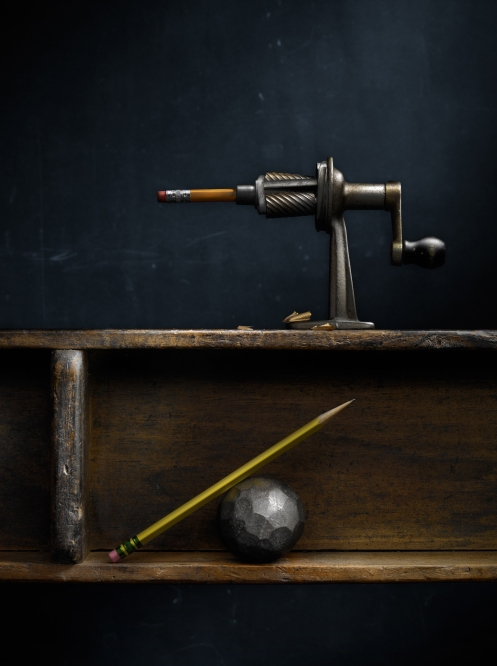 Harold_Ross_Still_Life_with_Pencil_Sharpener_and_Steel_Ball