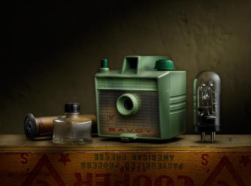 Photographer Harold Ross' Savoy Camera