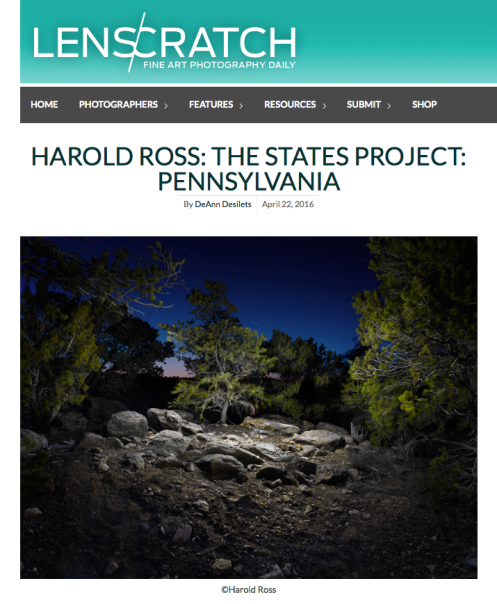 LENSCRATCH: The States Project: Harold Ross