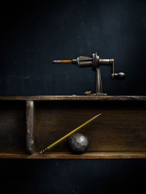 Still Life with Pencil Sharpener by photographer Harold Ross