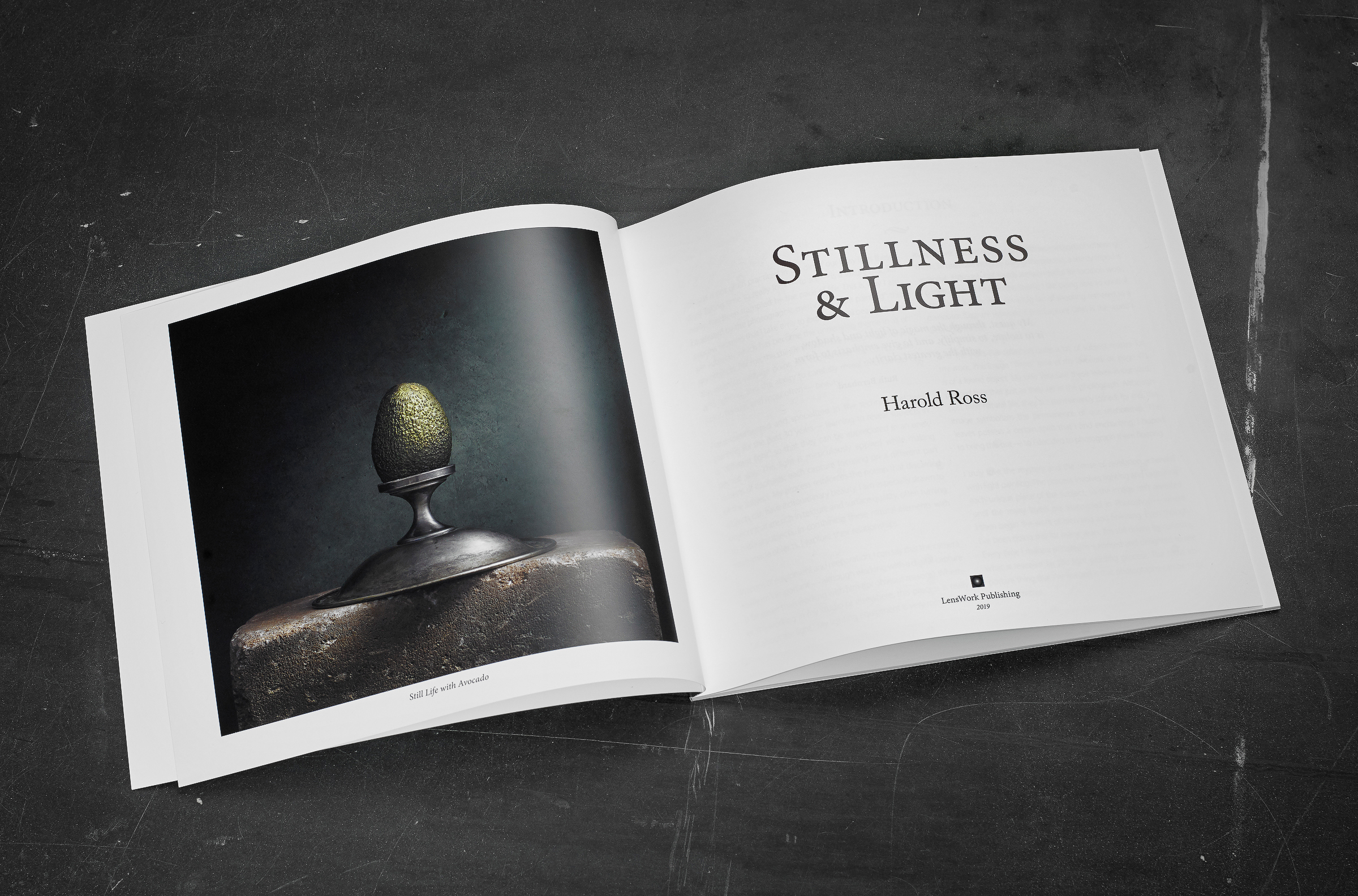 """Stillness and Light"" LensWork Monograph #15 by Light Painting Photographer Harold Ross"