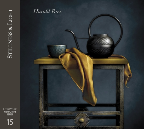 """Stillness and Light"" Cover - LensWork Monograph #15 by Light Painting Photographer Harold Ross"